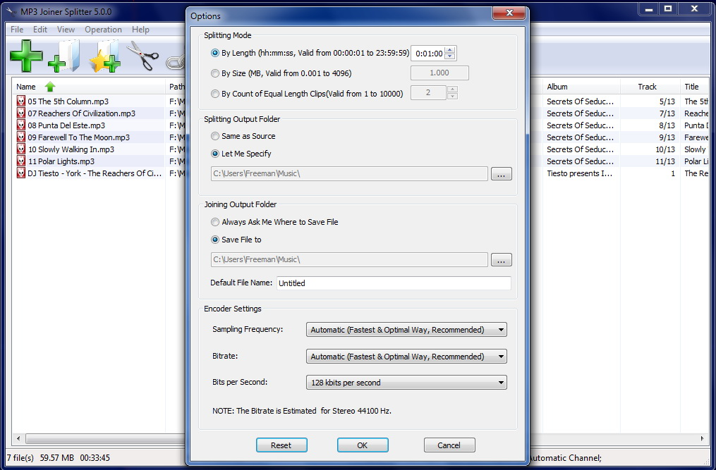 FREEWARE which splits and joins MP3 files.